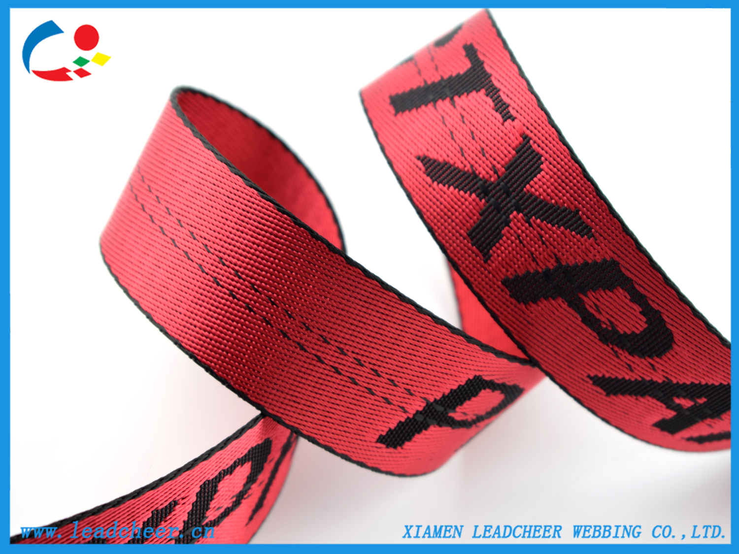 nylon straps with custom logos