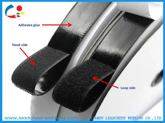 self adhesive hot melt sticky hook and loop